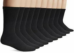 10 Pack of Gildan Men's Crew Socks