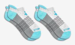 2-Pack Bombas Men's Ankle Socks ~Ocean Blue-Gray-Dark~ Honey