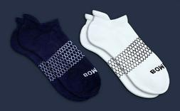 2-Pack  Bombas Men's Ankle Socks Honeycomb Large 7-12 NWT