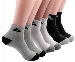 3-12 Pairs Ankle Quarter Crew Mens Sport Socks Cotton Athlet