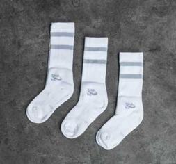 3 PAIRS - Nike SB Skateboarding Dri-FIT Adult Crew Socks Whi