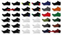 36 Pack Men's Elite Collection Sport Fashion Casual Low Cut