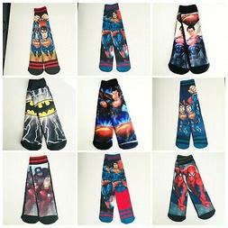 36 Pairs Kids Boys Novelty Design Crew Socks Wholesale Lots