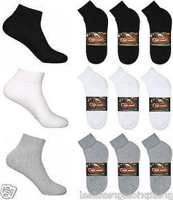 5~100 Dozens Wholesale Lots Mens Sports Cotton Ankle Socks S