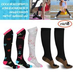 Copper Compression Socks 20-30mmHg Graduated Support Mens W