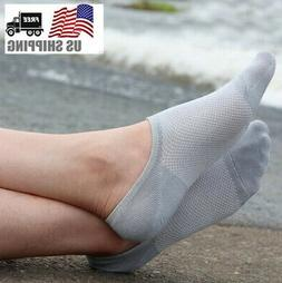 5/10 Pack Mens Womens Bamboo Socks Loafer Boat No Show Ankle