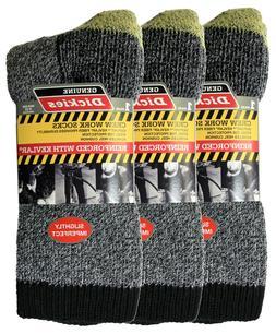 Imperfect Dickies Crew Socks Reinforced w/ Kevlar 3 Pr, Men