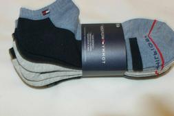 6 PAIRS CALVIN KLEIN CREW Ribbed Black Sport Socks MEN's LAR