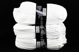 9-11 10-13 Athletic No Show Low Cut Ankle Cotton White Socks