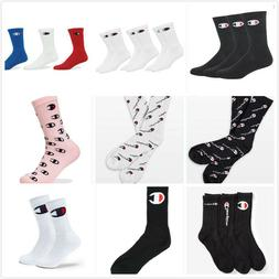 Champion LIFE Authentic 3-Pack 1-Pair Multi Logo Crew Socks