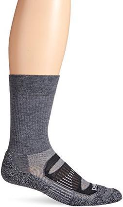Balega Blister Resist Crew Socks, Charcoal, Large