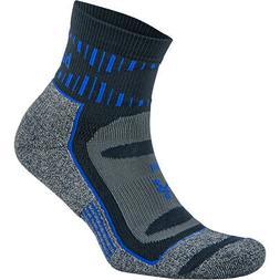 Balega Blister Resist Quarter Length Running Socks - Ink/Cob