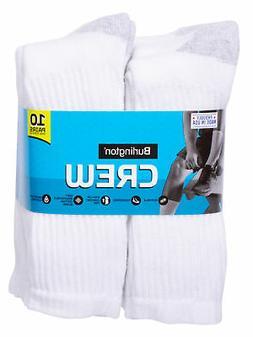 Burlington Brand Burlington Men's Cotton Crew Socks Comfort
