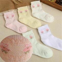 Children Socks Boy Girl Cotton Casual Breathable Mesh Baby F