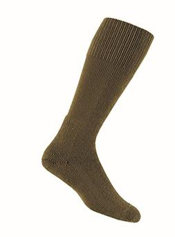 Thorlos Unisex MCB Combat Thick Padded  Sock, Coyote Brown,