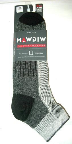 Wigwam Men's Cool-Lite Hiker Pro Quarter Socks, Khaki, X-Lar