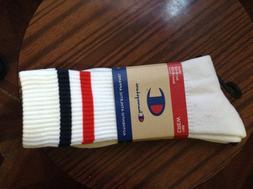 Champion crew socks for men,women,Large,NEW