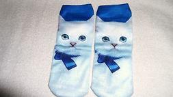 Cute Kitty Cat Socks Unisex Clothing Casual Men's Women Ankl