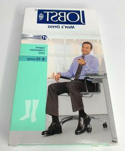 Men's Dress 8-15 mmHg Closed Toe Knee High Support Sock - Si