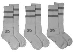 Nike SB Dri-Fit Skateboard Crew Socks 3 Pack White New