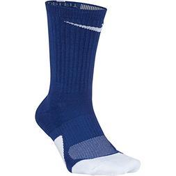 NIKE Unisex Dry Elite 1.5 Crew Basketball Socks , Game Royal