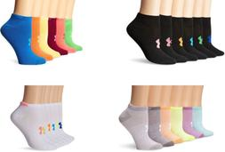 Under Armour Girls' Essential No-Show Liner Socks, 6 Pairs,