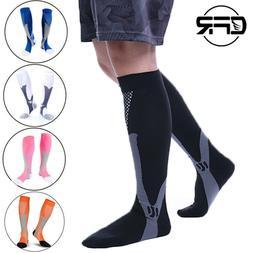 Graduated Compression Socks Men Women Elastic Ankle Support