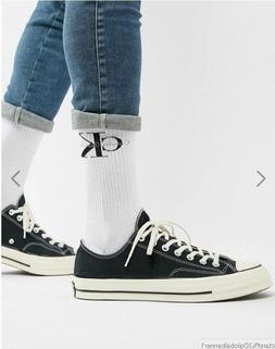 Calvin Klein  Jeans Men's Cotton Crew Socks White with Monog