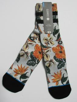 Stance Men's Kahuku Crew Sock, Tropical, Large/X-Large