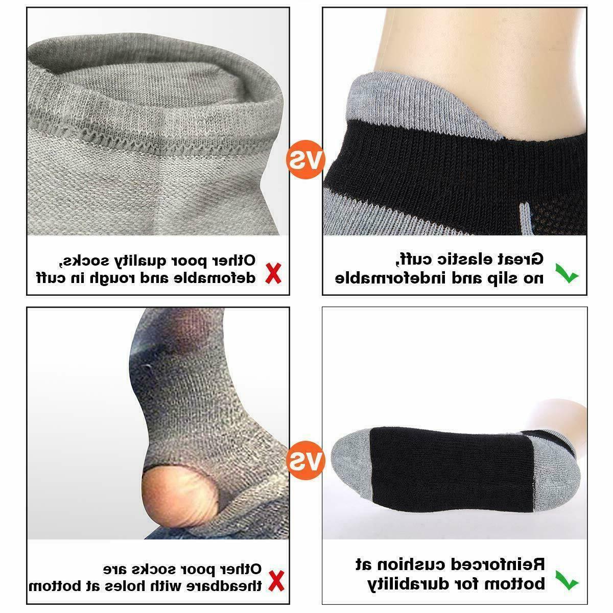 Low Cut Tab Socks Cushioned Running