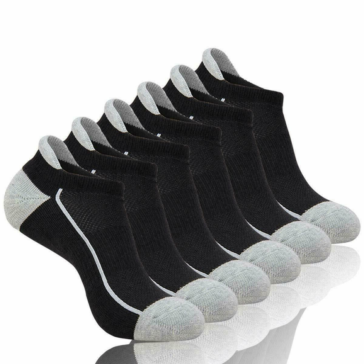 6 pairs mens athletic low cut ankle