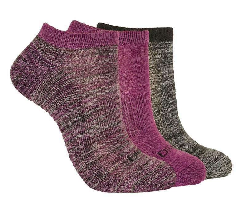 Dickies Women'S 3-Pack Soft Light Wool Keeps Feet Dry All Ye