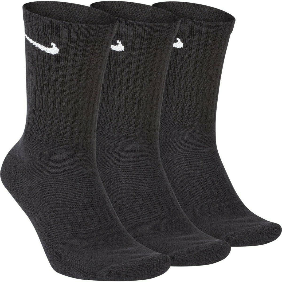everyday cotton cushioned crew socks 3 pack