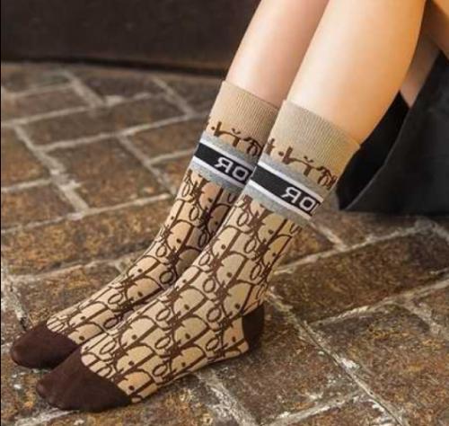 Dior Socks Cotton Middle socks Choose