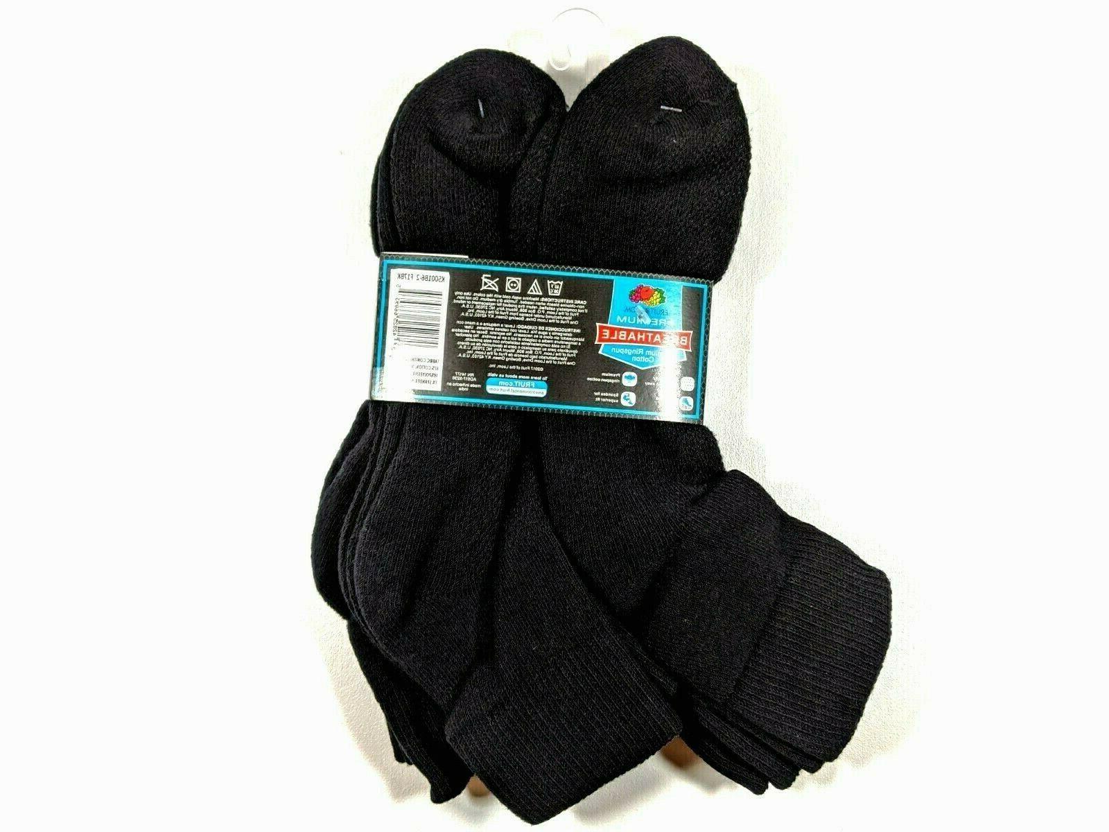 Mens Premium Ankle Shoe Size 12-16 Black