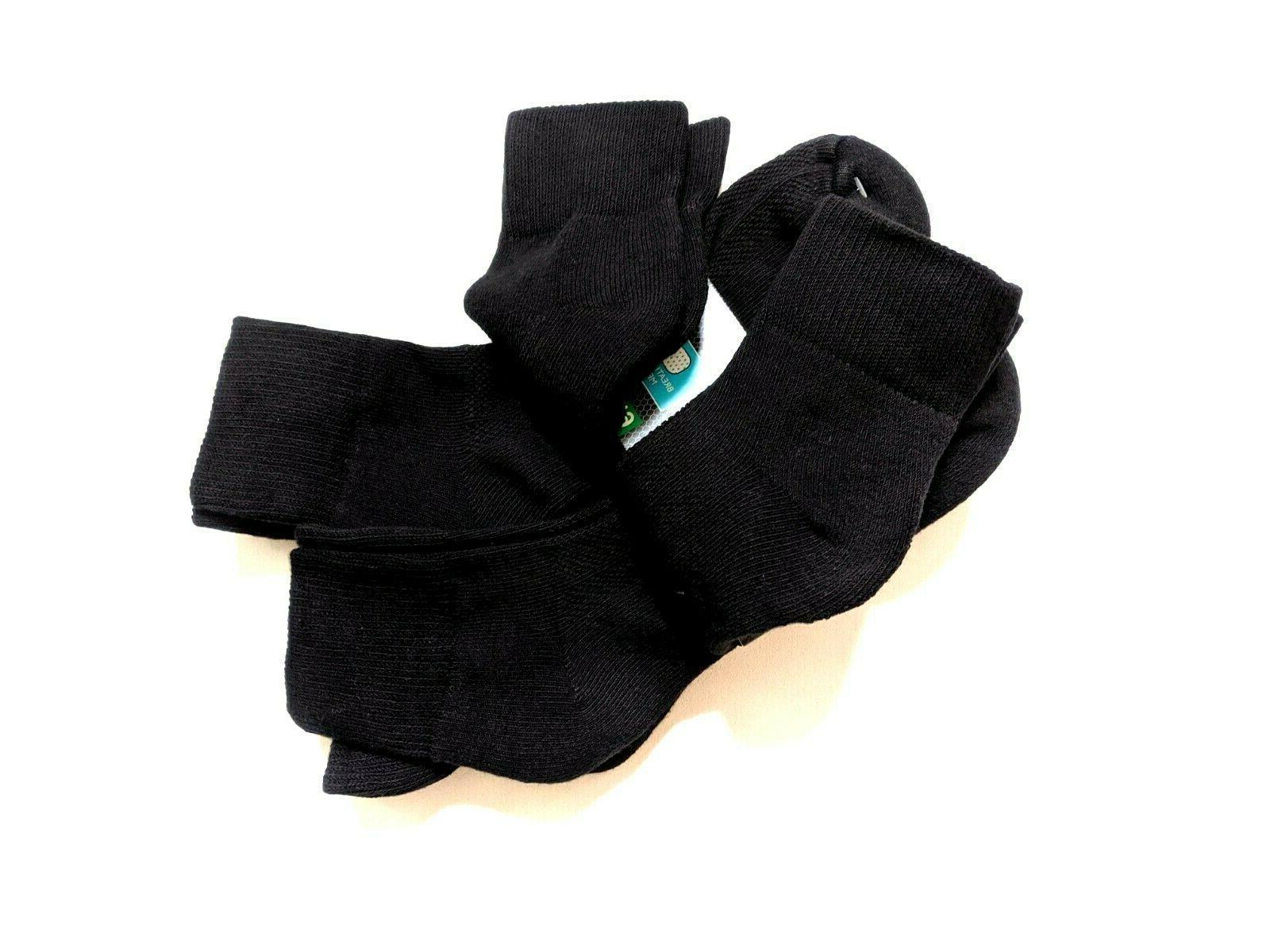 Fruit Mens Shoe Black 6-Pair New