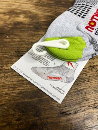 New NEWTON White Length Socks S/M
