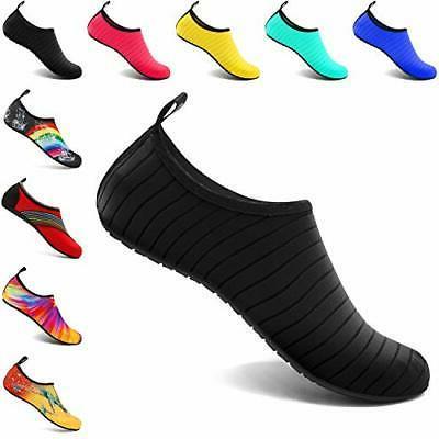 VIFUUR Water Sports Shoes Barefoot Quick-Dry Aqua Yoga Socks