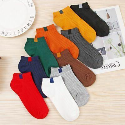 1Pair Women Girls Candy Color Ankle Short Socks Low Cut Spor
