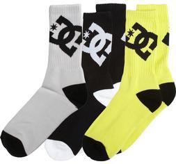 DC Lifted Sock - 3-Pack - Kids' Sulphur Springs, 6-8.5