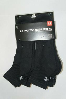 Under Armour Low Cut Socks Men's XL 12-16 Charged Cotton 2