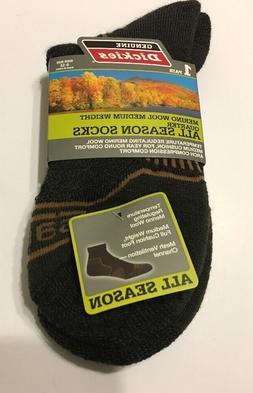 Dickies Men Ankle Socks Shoe Size 6-12 Merino Wool Medium We