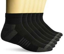 Amazon Essentials Men's 6-Pack Performance Cotton Cushioned