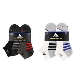 6 Pack Adidas Originals socks Men's Mix Low Cut Climalite Wh
