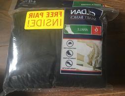 Gildan Men's 7 bonus pair ANKLE Socks Shoe Size 6-12 NWT Bla