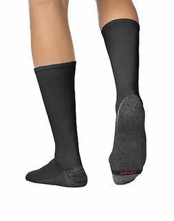 Hanes Men's  6-Pack Ankle Socks FreshIQ ComfortBlend Cotton