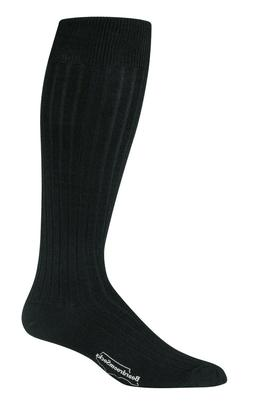 Men's Big and Tall Dress Socks Merino Wool Over the Calf Kne