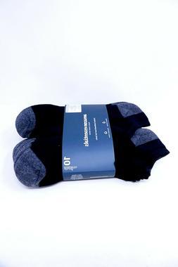 Amazon Essentials Men's Cotton Half Cushioned No-Show Socks