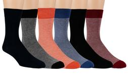 Men's Moisture Wicking Crew Socks Anti-Sweat Ultra Soft Visc