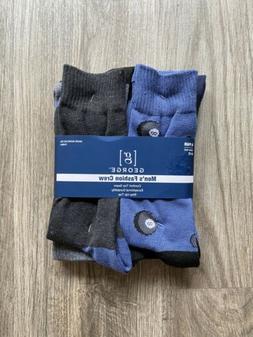 Men's George Fashion 8 Ball Socks Shoe Size 6-12